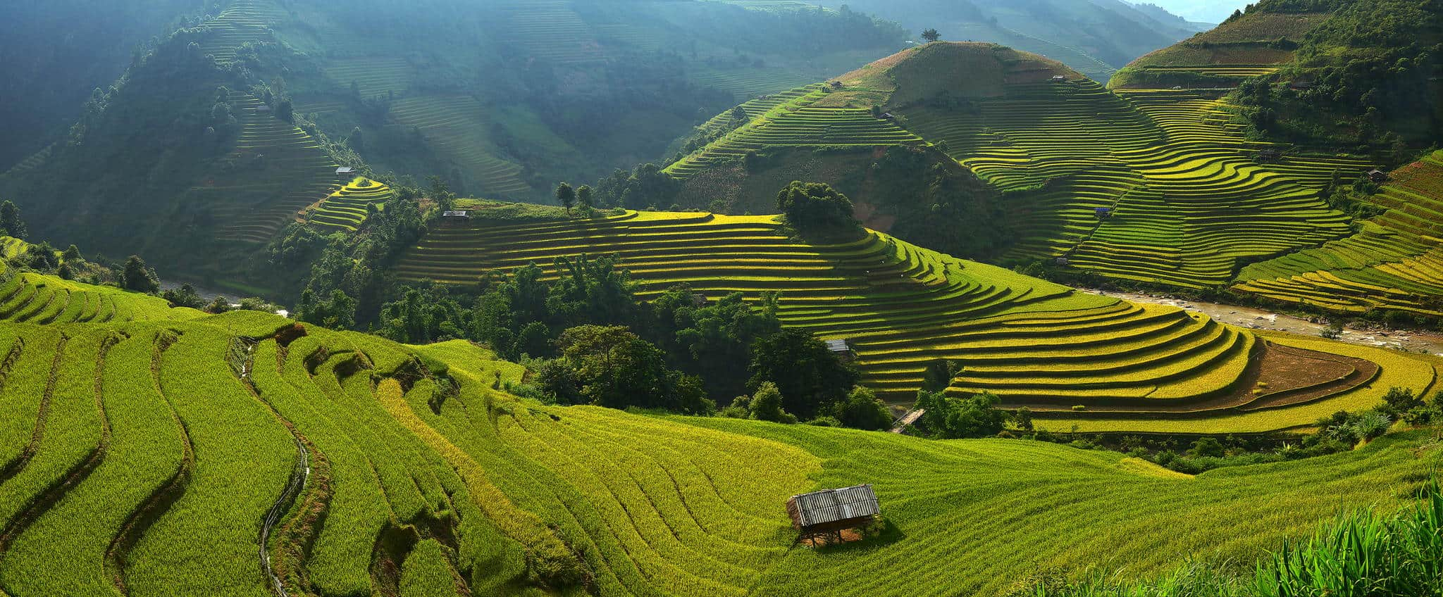 Mu cang chai rice terraces in vietnam placeaholic for What are terraces