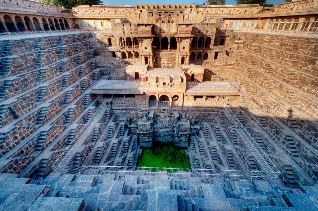 Chand Baori is one of the biggest and oldest stepwells in the world.