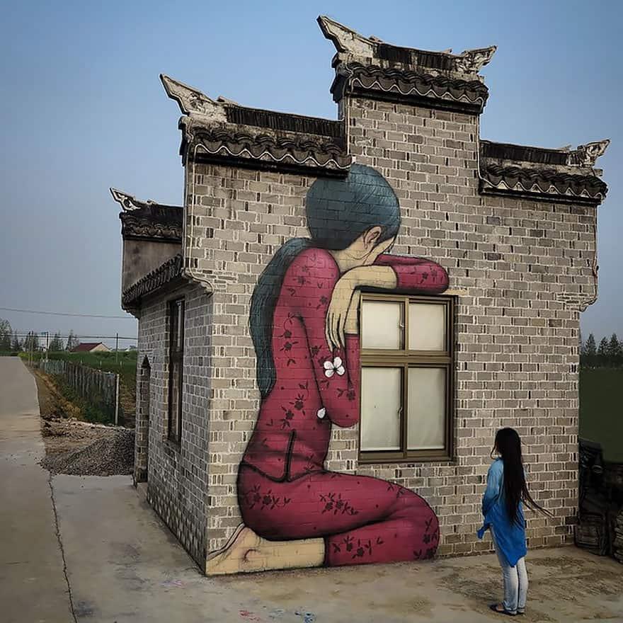 Seth Globepainter Indonesia street art