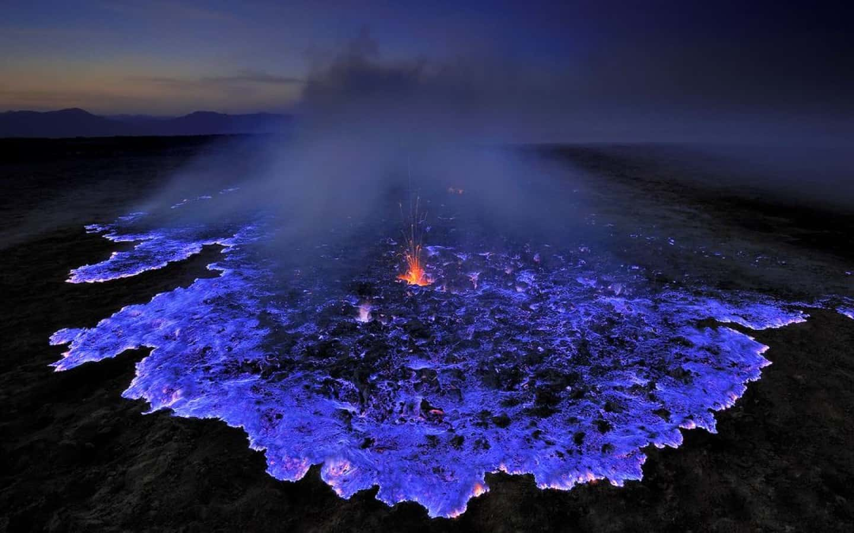 Electric Blue Lava