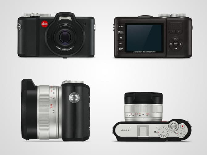 Classic and incredible design, a true Leica Camera
