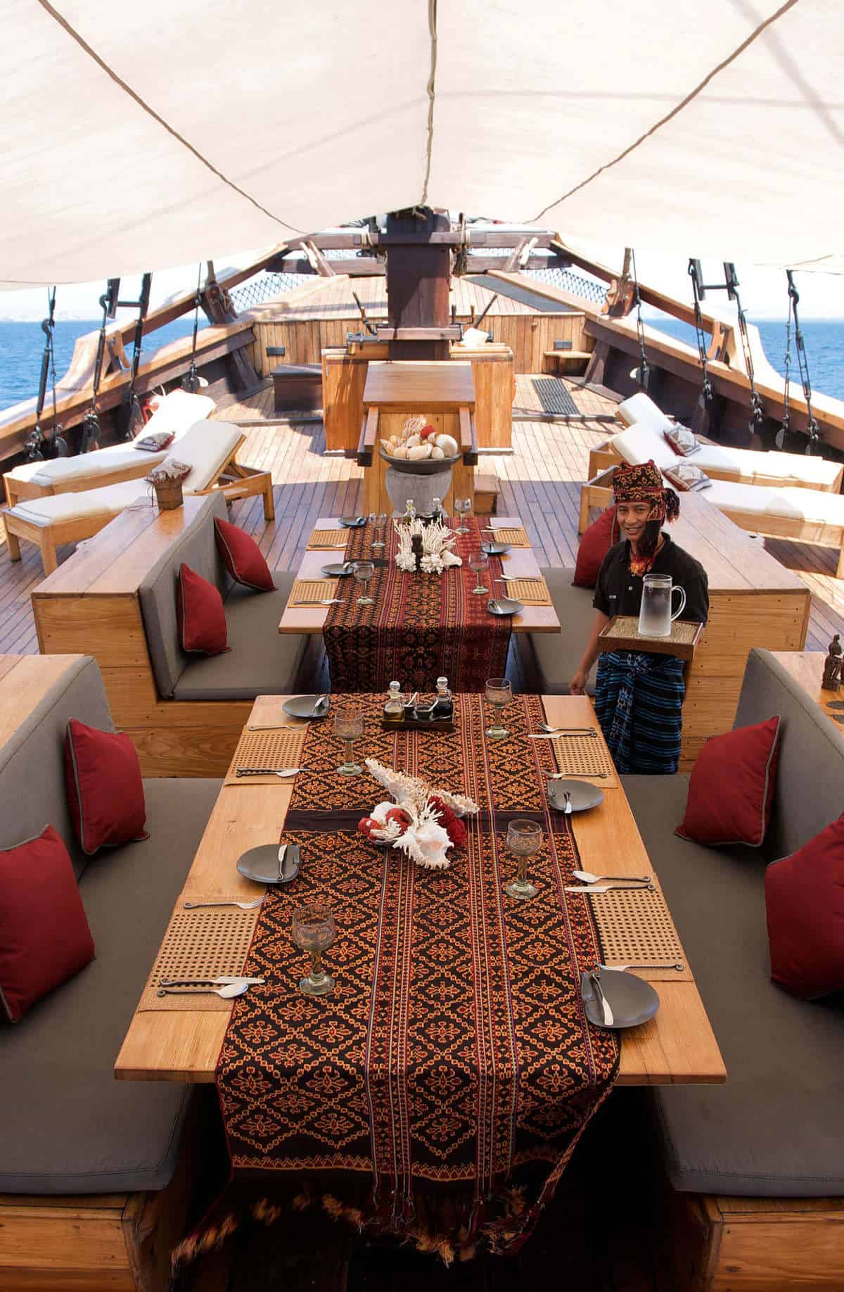 Silolona Sojourns dining