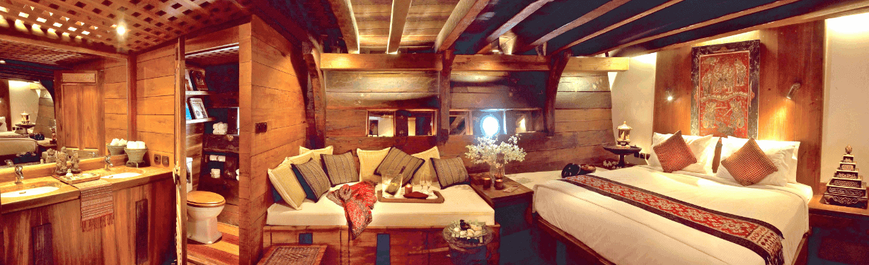 Silolona Sojourns room
