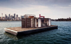 Spontaneity Suite floating in Sydney bay area