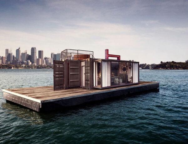 Spontaneity Suite floating in Sydney bay area
