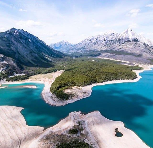 Spray Lakes of Alberta