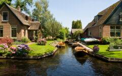 Wanderful village of Giethoorn