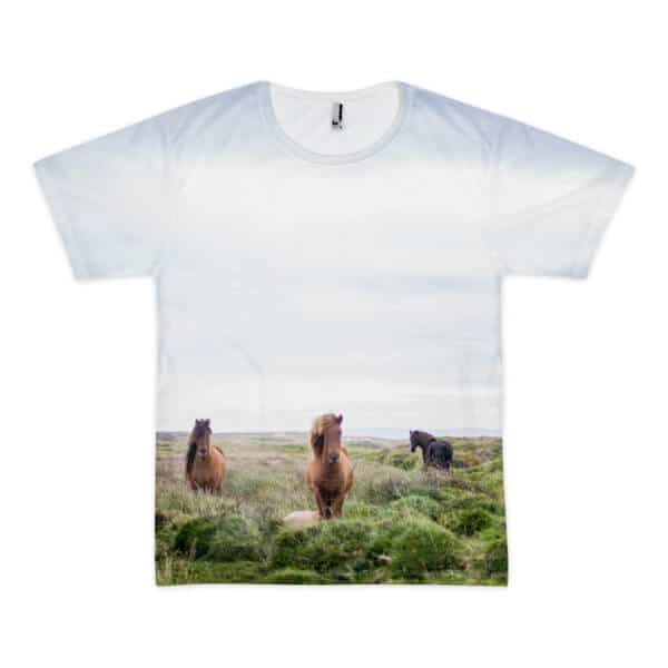 Wild Wild Horser full print sublimation t-shirt