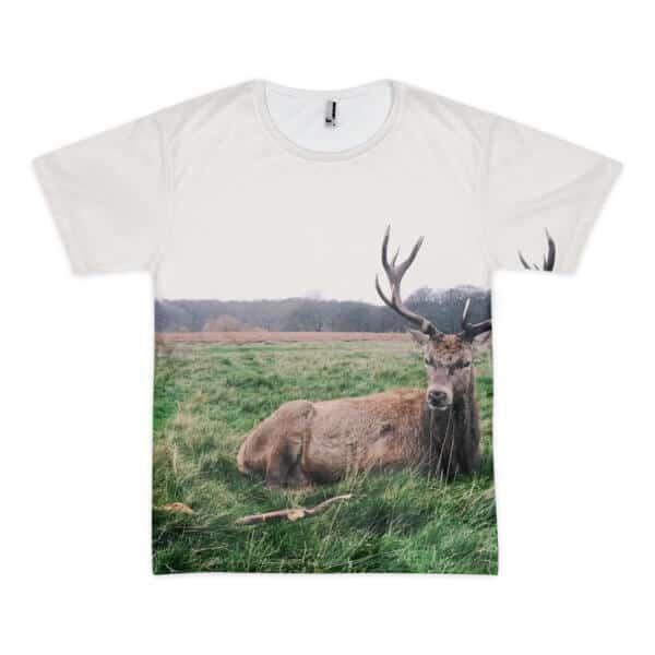 Wildlife Reindeer printed t-shirt