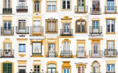 Windows of Évora, Portugal
