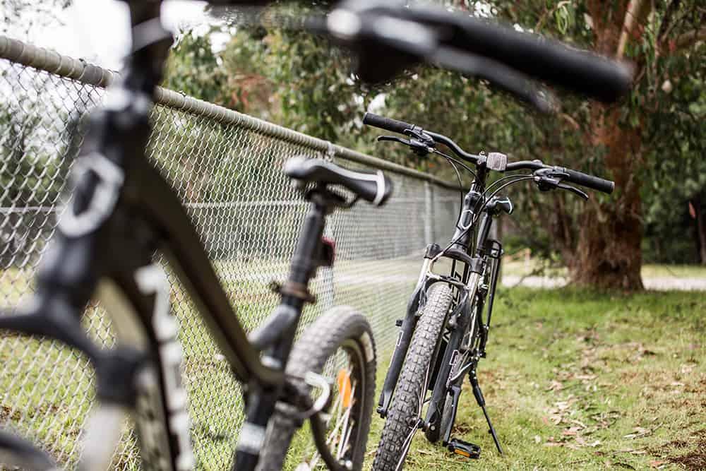 Bikes to roam around Tasmania's wildeness