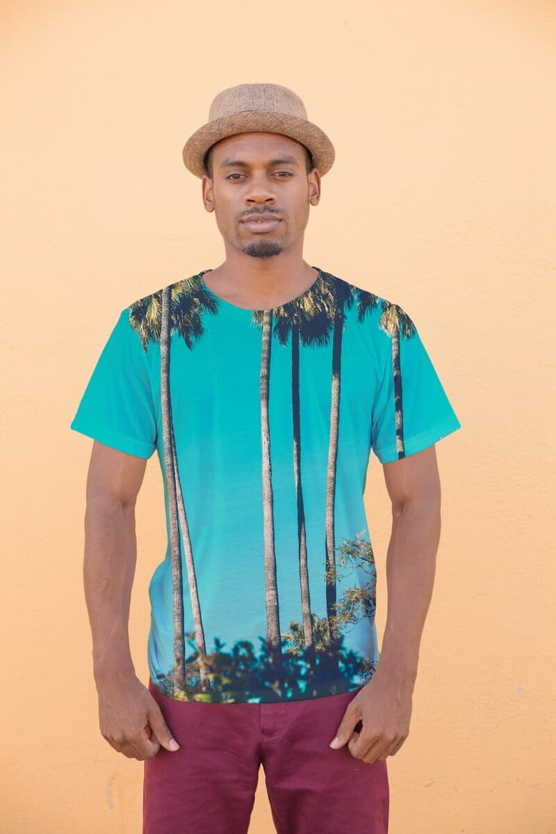 City Palms exotic full printed t-shirt