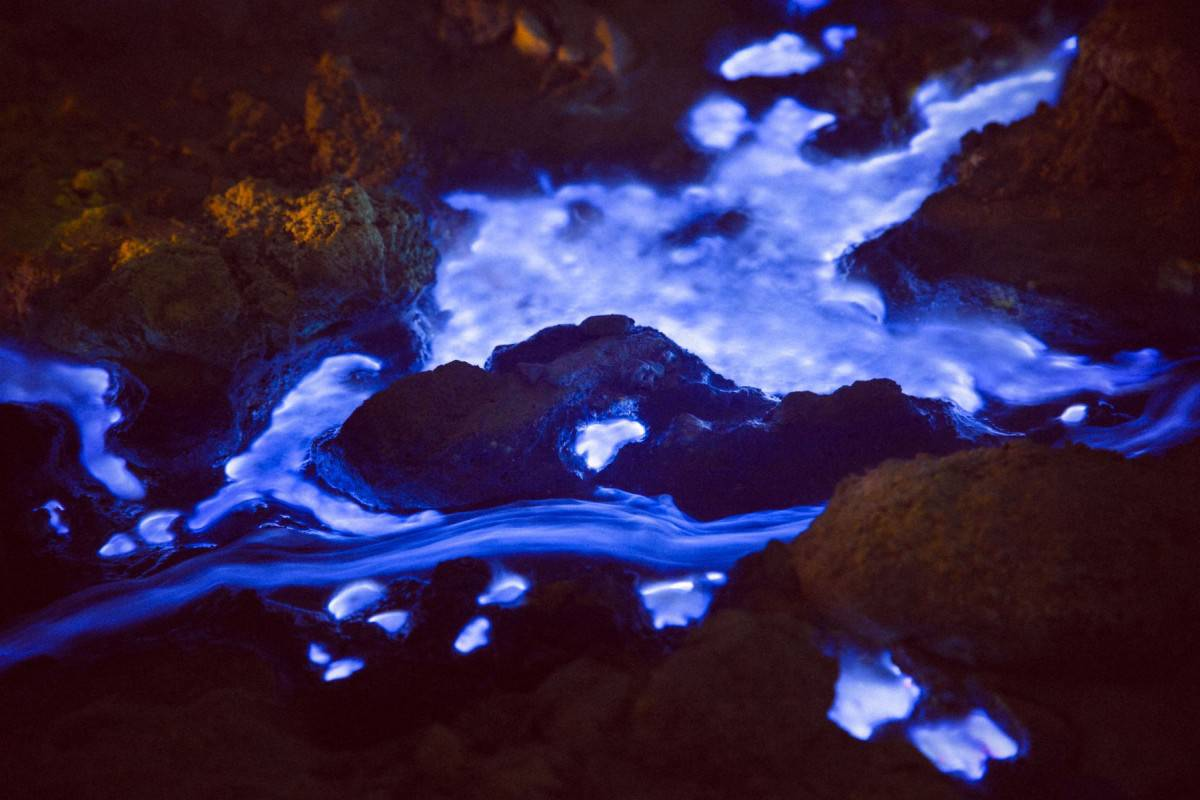 electric blue lava indonesia