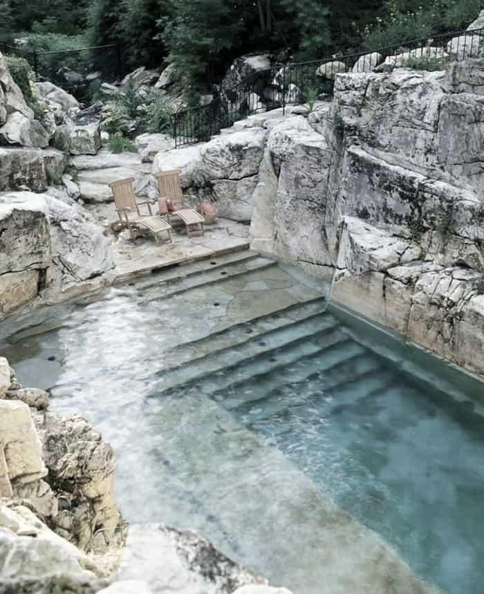 Marcel Marongiu designed pool mexico
