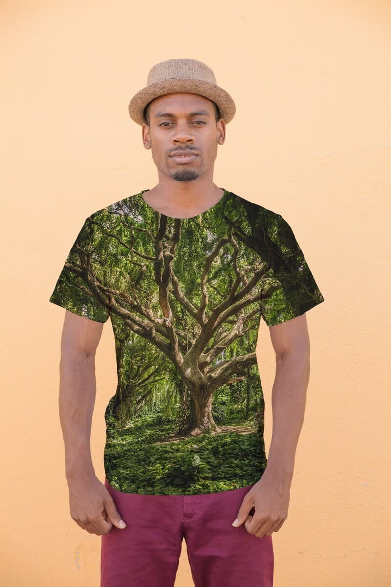 Full of Nature Tree printed t-shirt