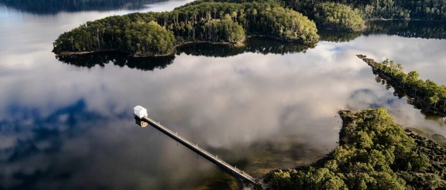 Pumphouse Point on Lake St. Clair