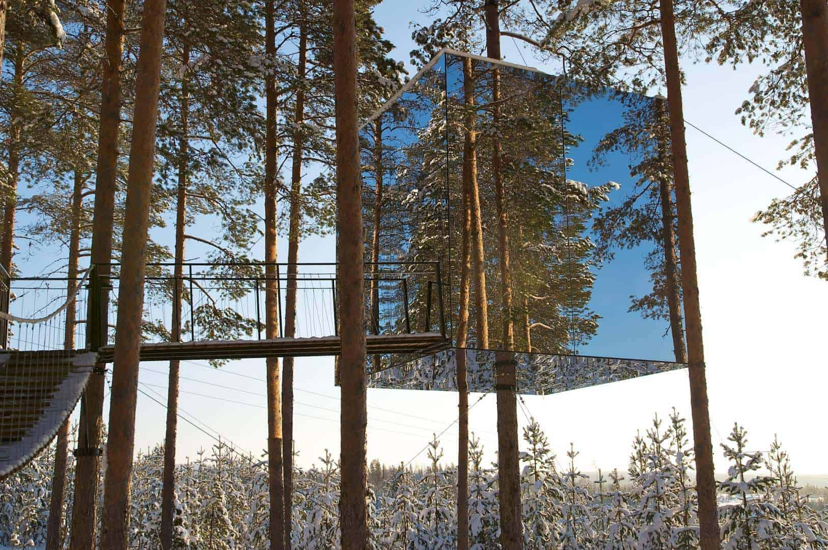 treehotel mirrorcube big