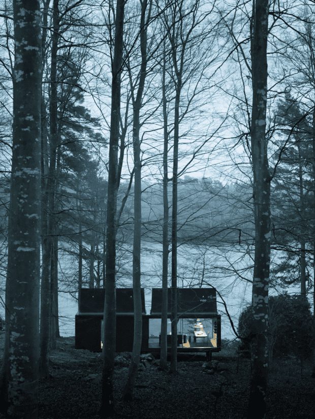 vipp shelter at night