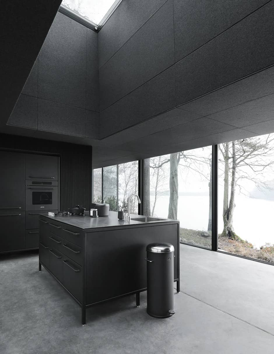Minimalist kitchen with everything you need in it