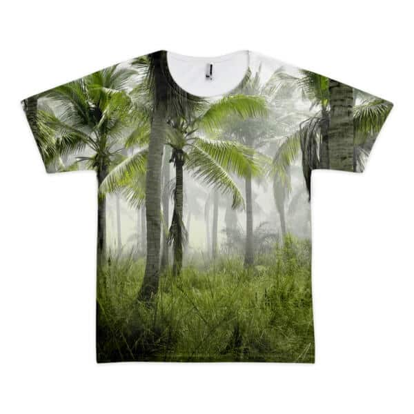 wild palms printed t-shirts