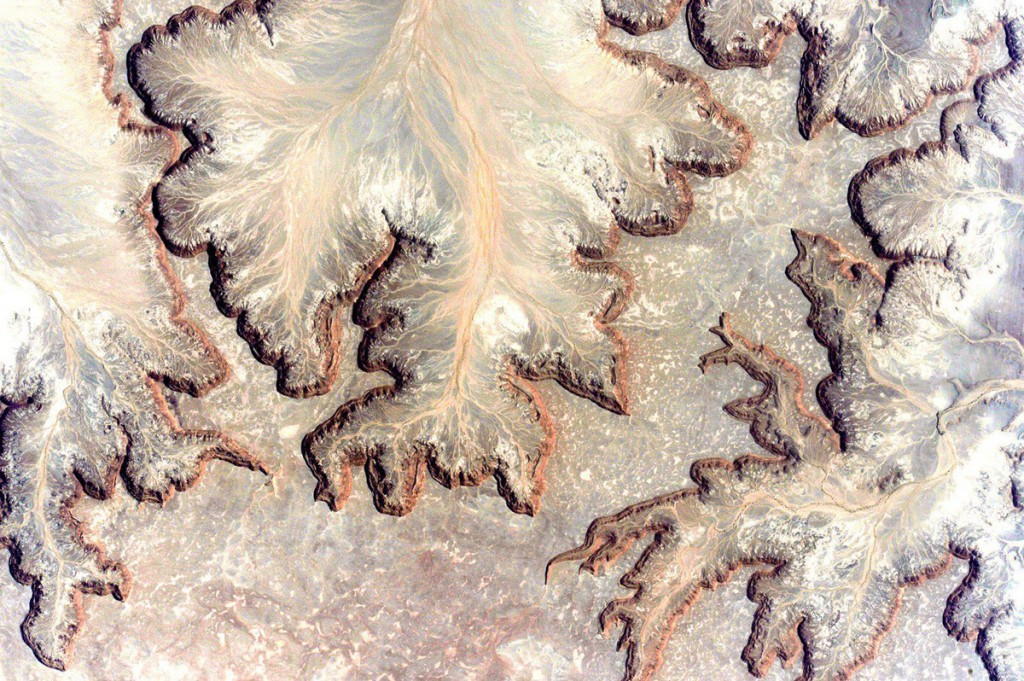 Northwest Libya see from space.