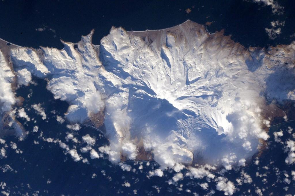 An Aleutian island.