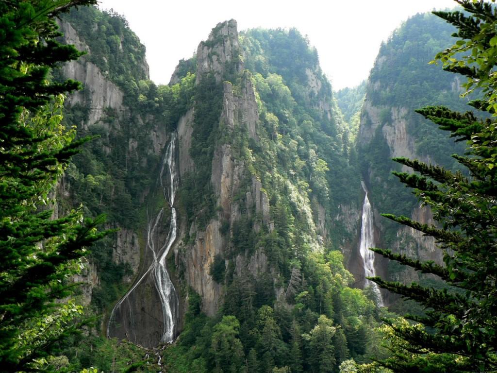 Sounkyo Gorge, Japan