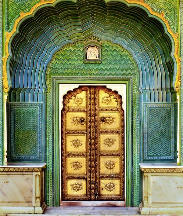 Amer Fort India & 75 Most Unique Front Doors From Around the World - Placeaholic
