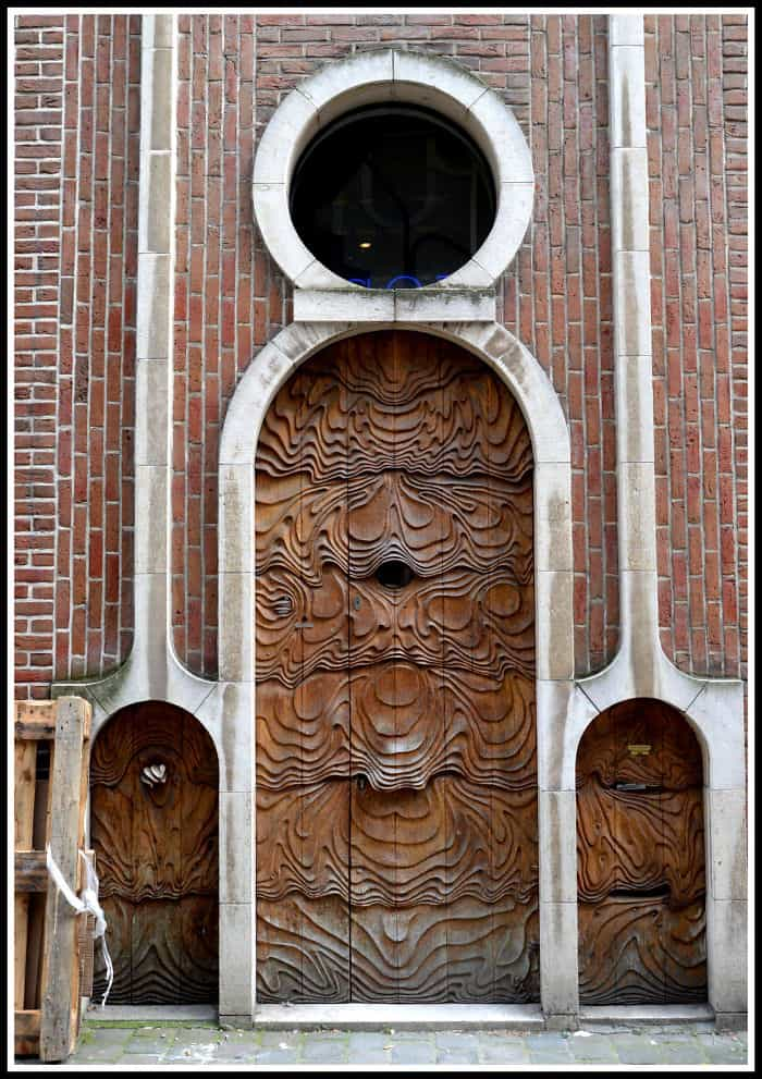 Art Nouveau Door In Ghent   Belgium (photo By Carlos José Martins Nobre)