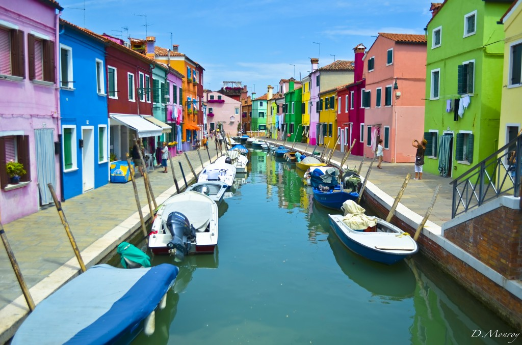 Burano, not as famous as its big sister island - Venice, but surely as beautiful.