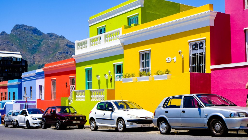 Bo-Kaap was one of the original hubs of Malay culture in Cape Town, Sowth Africa. Today it's one of the trendiest and most expensive neighbourhoods with lots of restaurants and wine bars.