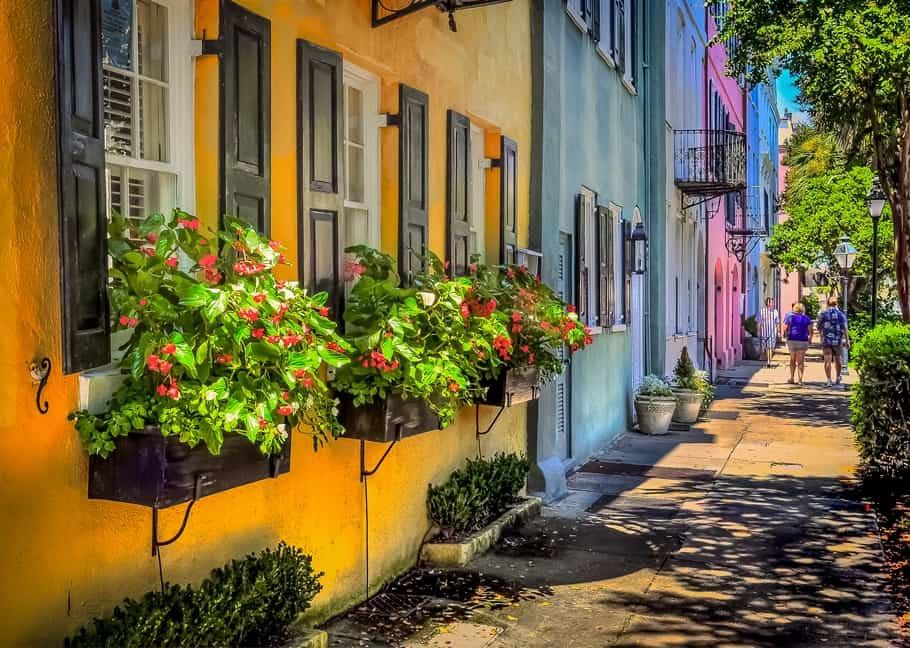 Charleston, South Carolina dates back to 1670 and would be a great city break location for when you want to go back in time and relax.