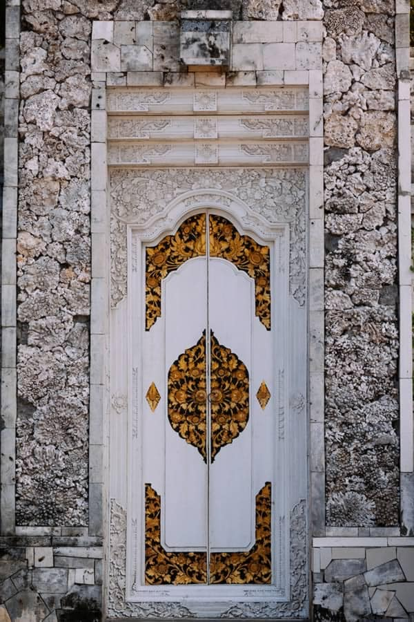 Door in Bali, Indonesia