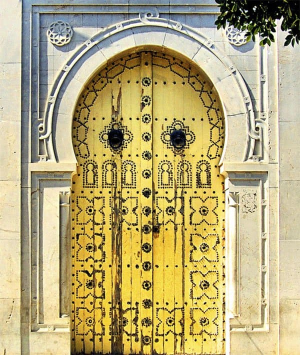 Door in Tunisia