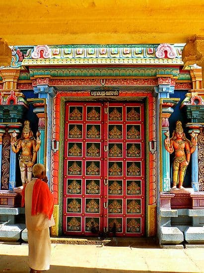 Hindu Temple - Trichy, South India