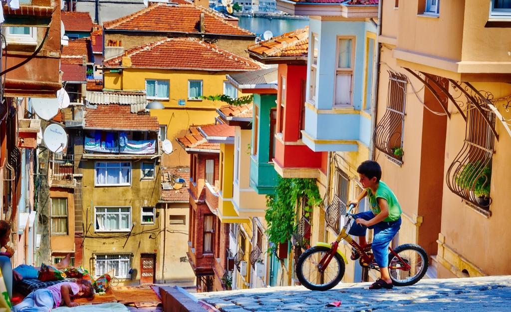 Balat used to be Istanbul's old Jewish quarter