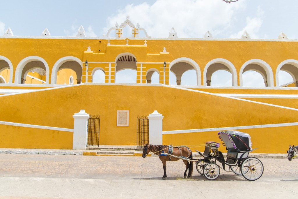 Izamal is a very small city in Mexico's Yucatan peninsula.