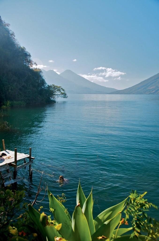 Lake Atitlán, Panajatchel, Guatemala