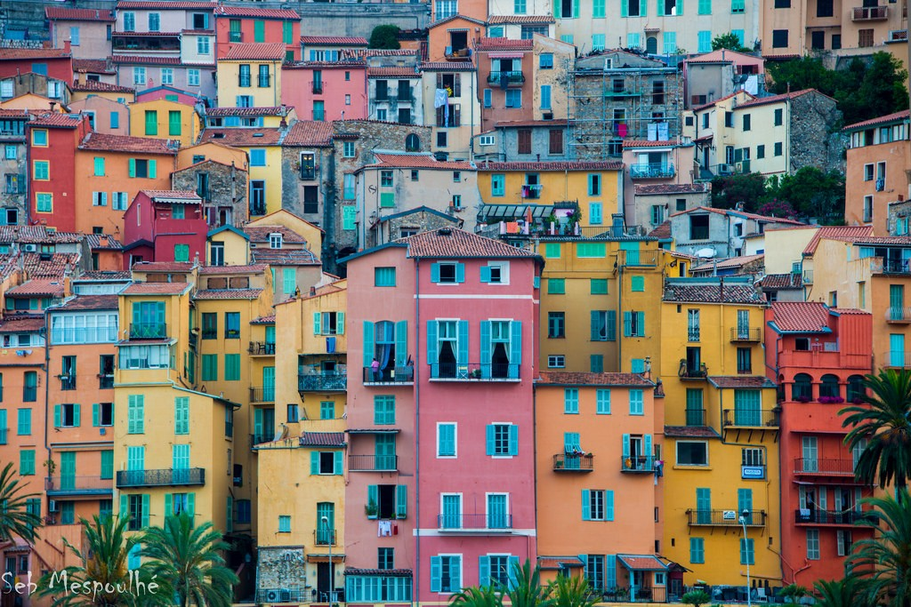 Menton is a town on the French Riviera, which means is a must see!