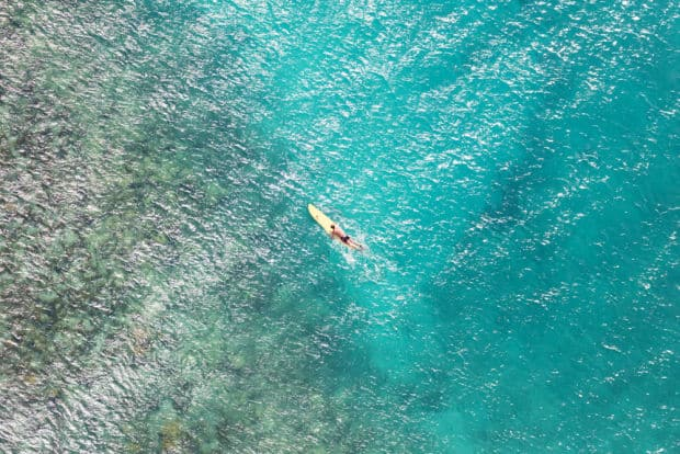 St. Barth Paddle Surfer
