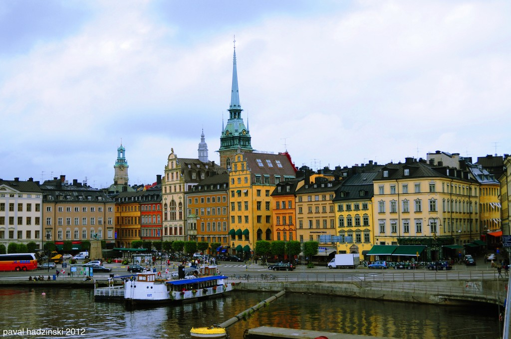 Stockholm the capital of Sweden is one of the cleanest cities in the world