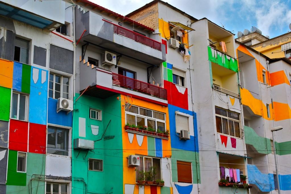 Tirana, the capital city of Albania