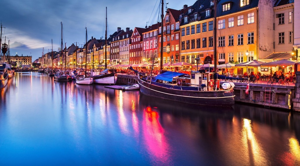 Copenhagen, the capital city of the world's happiest country - Denmark