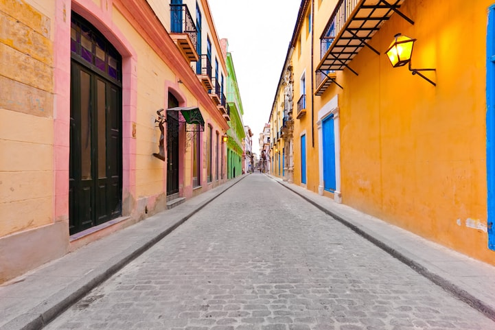 Everything about Havana, Cuba is colorful.