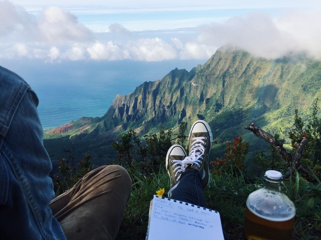 Inspiration spot, probably Hawaii