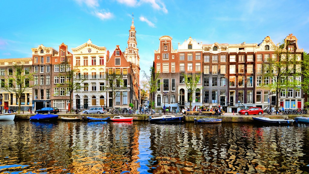 "Amsterdam, the capital city of the Kingdom of the Netherlands. There's much more you can do in Amsterdam than smoke funny stuff in their ""Coffee shops""! You can eat brownies too!"