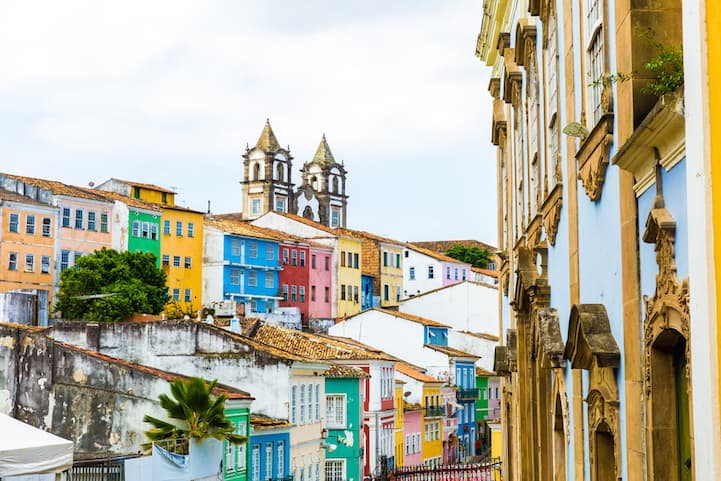 Salvador, a city in Brazil's northeastern state of Bahia, is known for its Portuguese colonial architecture, Afro-Brazilian culture and tropical coastline.