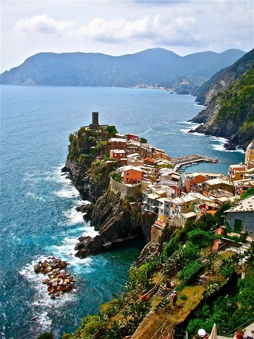 The beautiful Vernazza, Italy