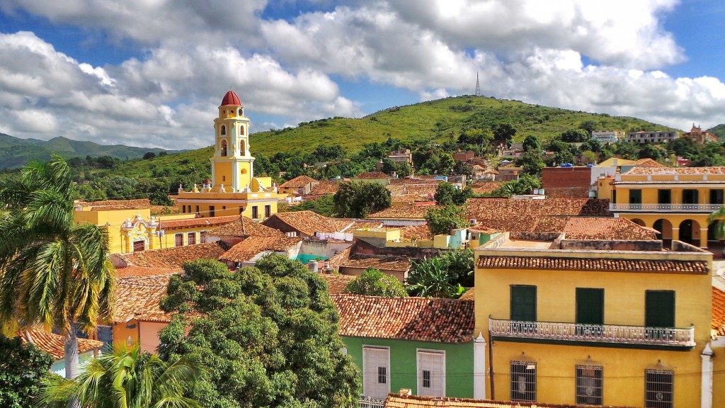 Trinidad, Cuba. Yet another amazing UNESCO World Heritage Site, an open-air museum filled with colorful Spanish Colonial architecture buildings.