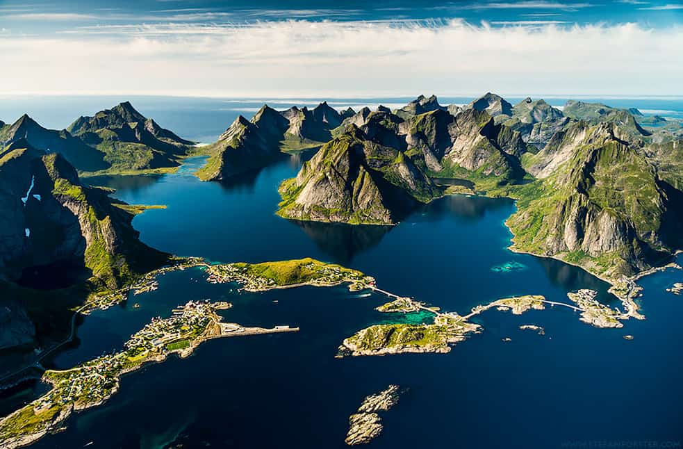 Lofoten surreal scenery. Photo by Stefan Forster
